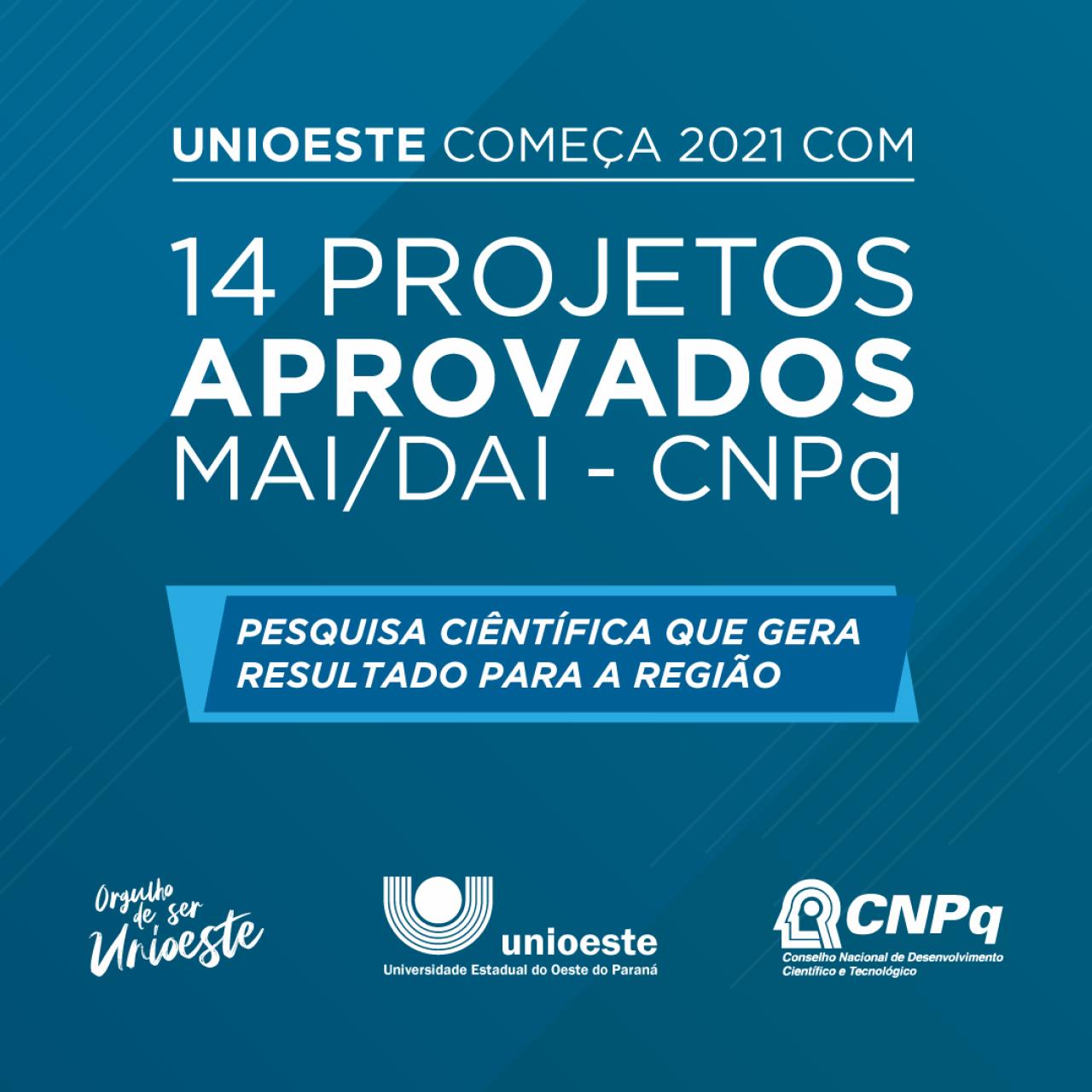 Unioeste envolve empresas em 14 projetos de parceria com Programas de Pós-graduação selecionados pelo CNPq no Programa MAI/DAI